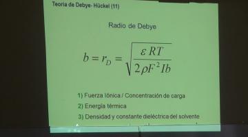 Fisicoquímica 2015 9 de Septiembre Iones en Solución. Actividad Iónica. Teoría de Debye-Hückel.
