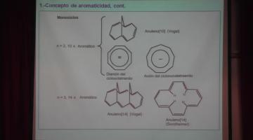 Química Orgánica I 2015 14 de Septiembre. Aromaticidad