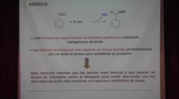 Química Orgánica I 2015 26 de Octubre Aminas (II)