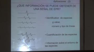Fisicoquímica 2015 9 de Noviembre Resonancia de Espin Electrónico