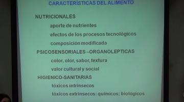 Nutrición y Bromatología 22 de Agosto.