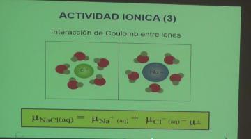 Fisicoquímica 2017, 6 de Septiembre. Iones en solución. Actividad Iónica.
