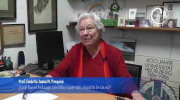 Entrevista Profesora Juana M. Pasquini