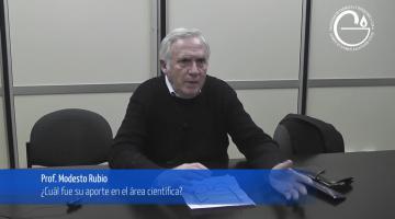 Entrevista Profesor Modesto Rubio