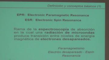 Fisicoquímica 2017, 3 de Noviembre. Resonancia de Espín Electrónico, EPR.