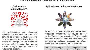 Metodología de Radioisótopos 2019. Orientaciones Bioquímica.