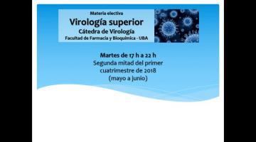 Virología Superior 2018. Orientaciones Bioquímica.