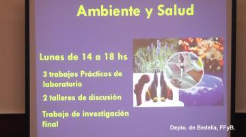 Ambiente y Salud 2018. Orientaciones Bioquímica.