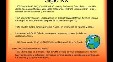 Inmunología. Sueros y Vacunas.
