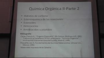 Química Orgánica II 2015